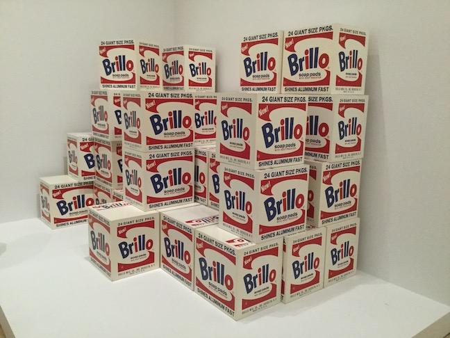 warhol brillo boxes