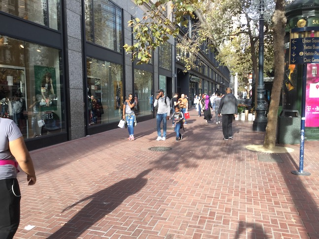 market street at fourth street