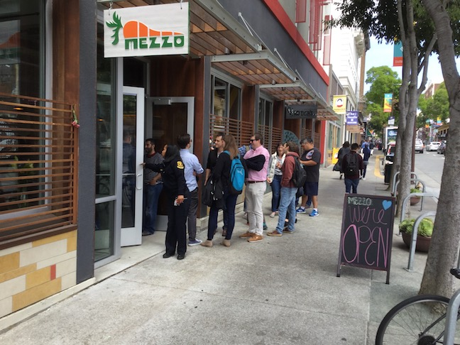 mezzo restaurant reopens on telegraph avenue