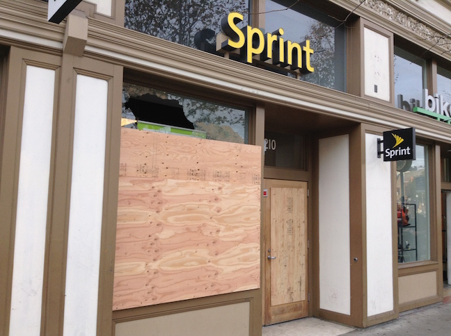 sprint store on shattuck avenue