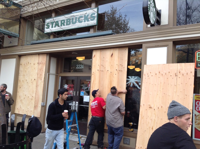 starbucks on shattuck avenue