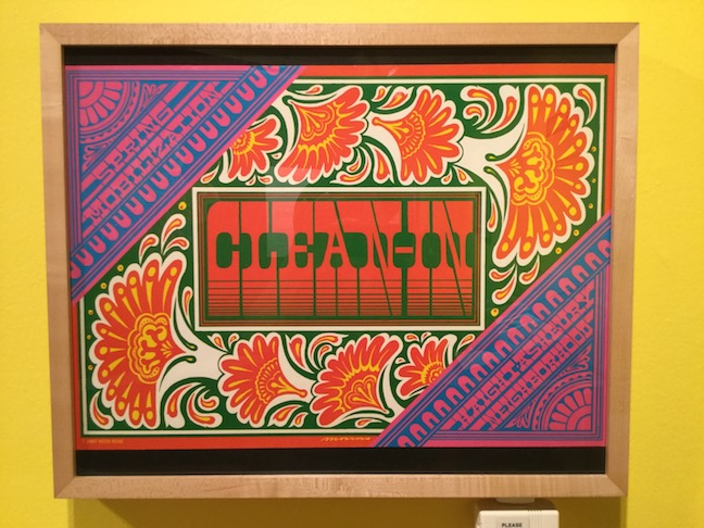 clean-up poster from summer of love exhibit